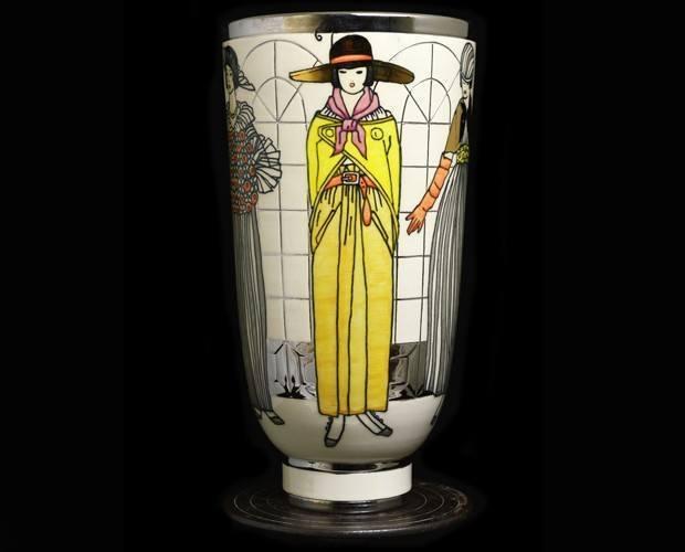 Spring Shopping Vase