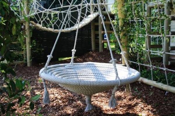 circular garden nest swing