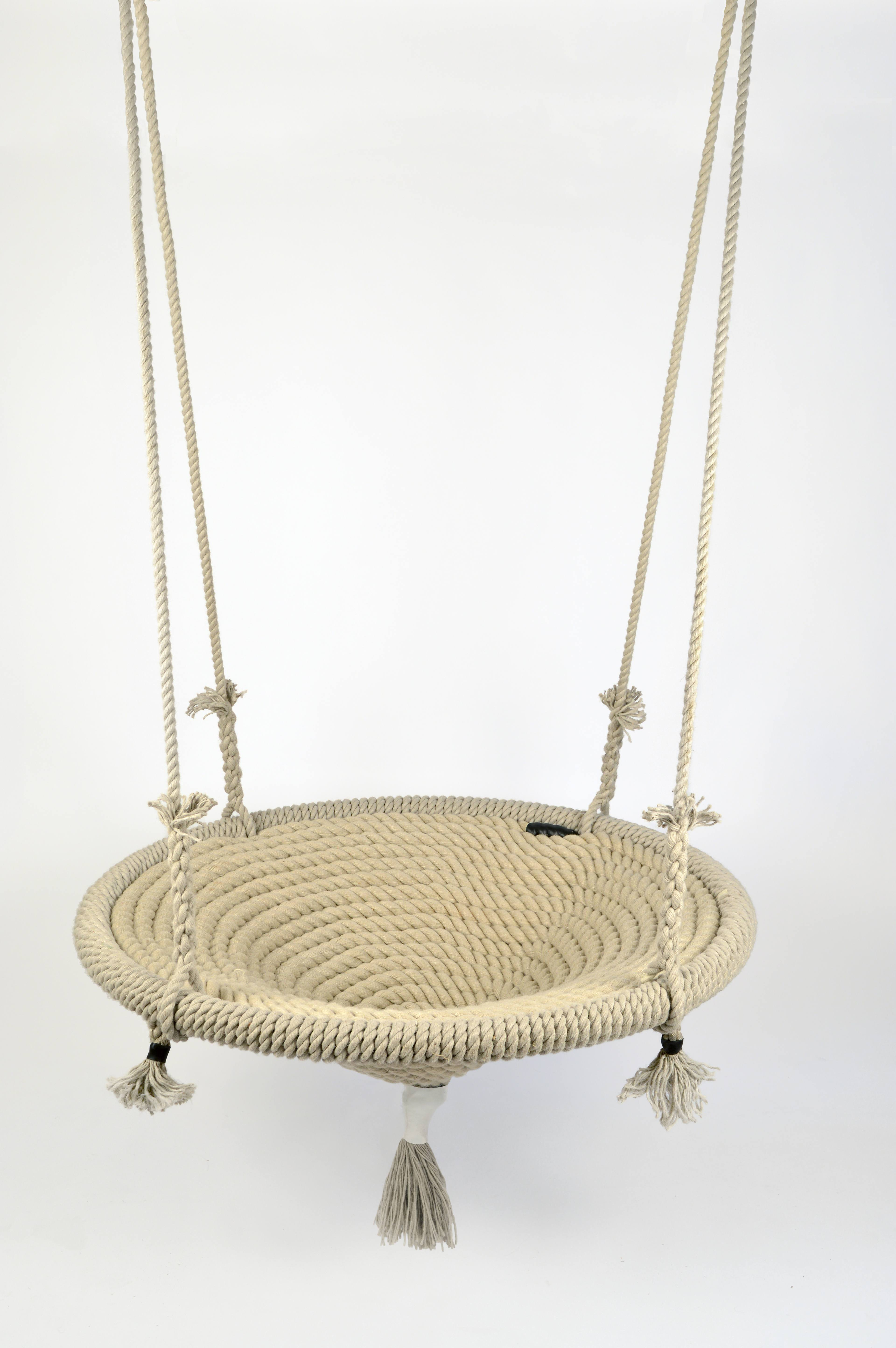 extra large rope nest swing