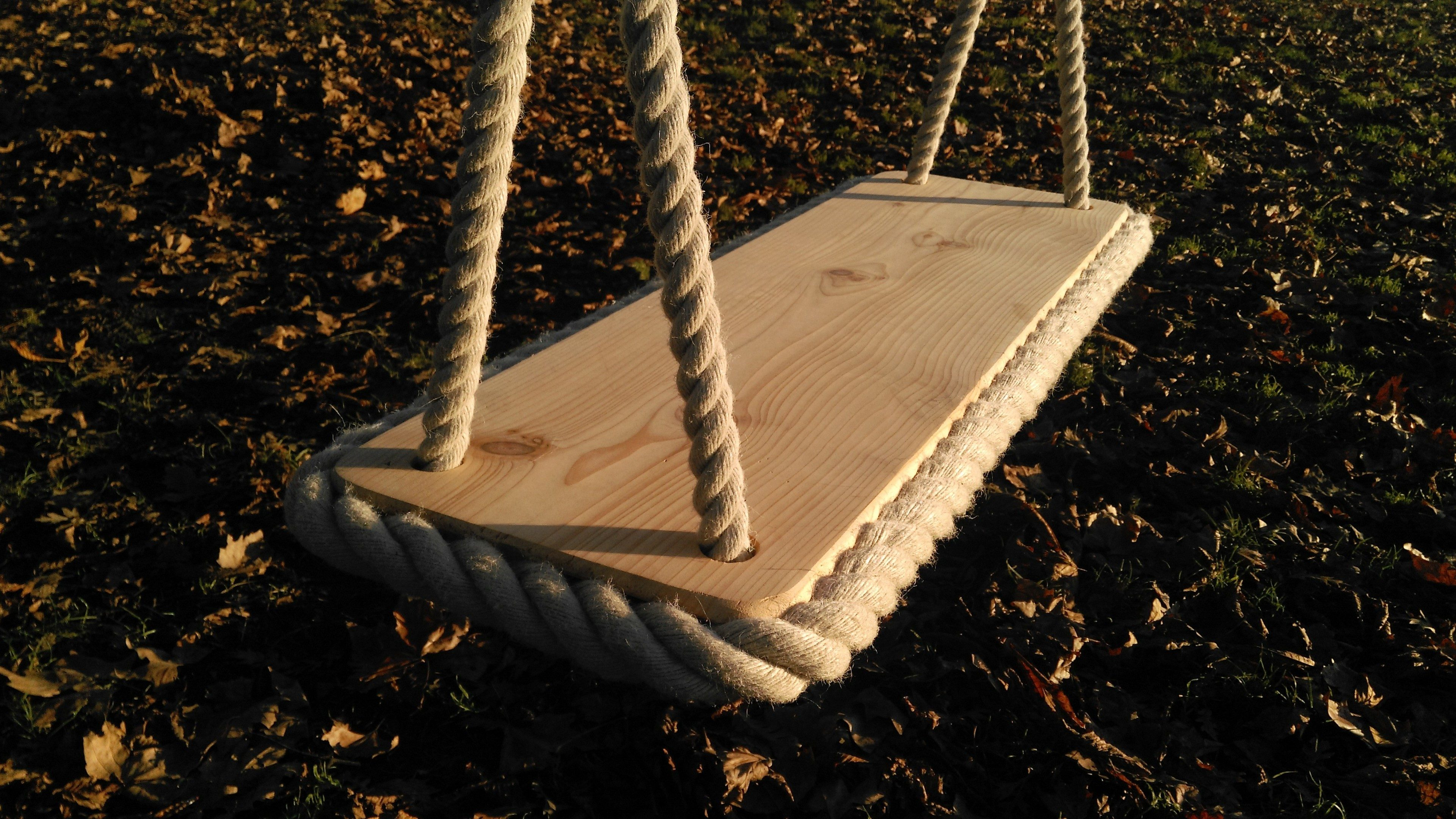 Cedar Rope Tree Swing