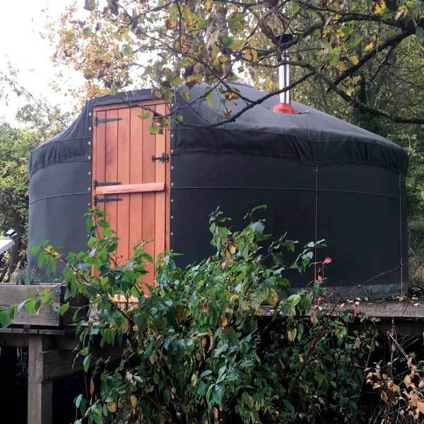 Applegates Yurt Exterior