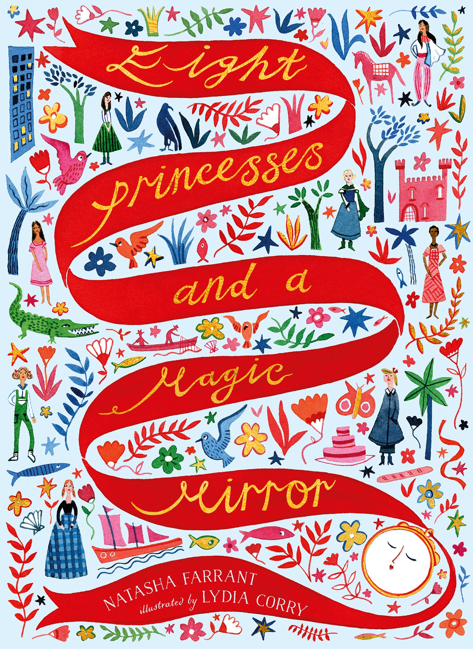 Eight Princesses and a Magic Mirror image