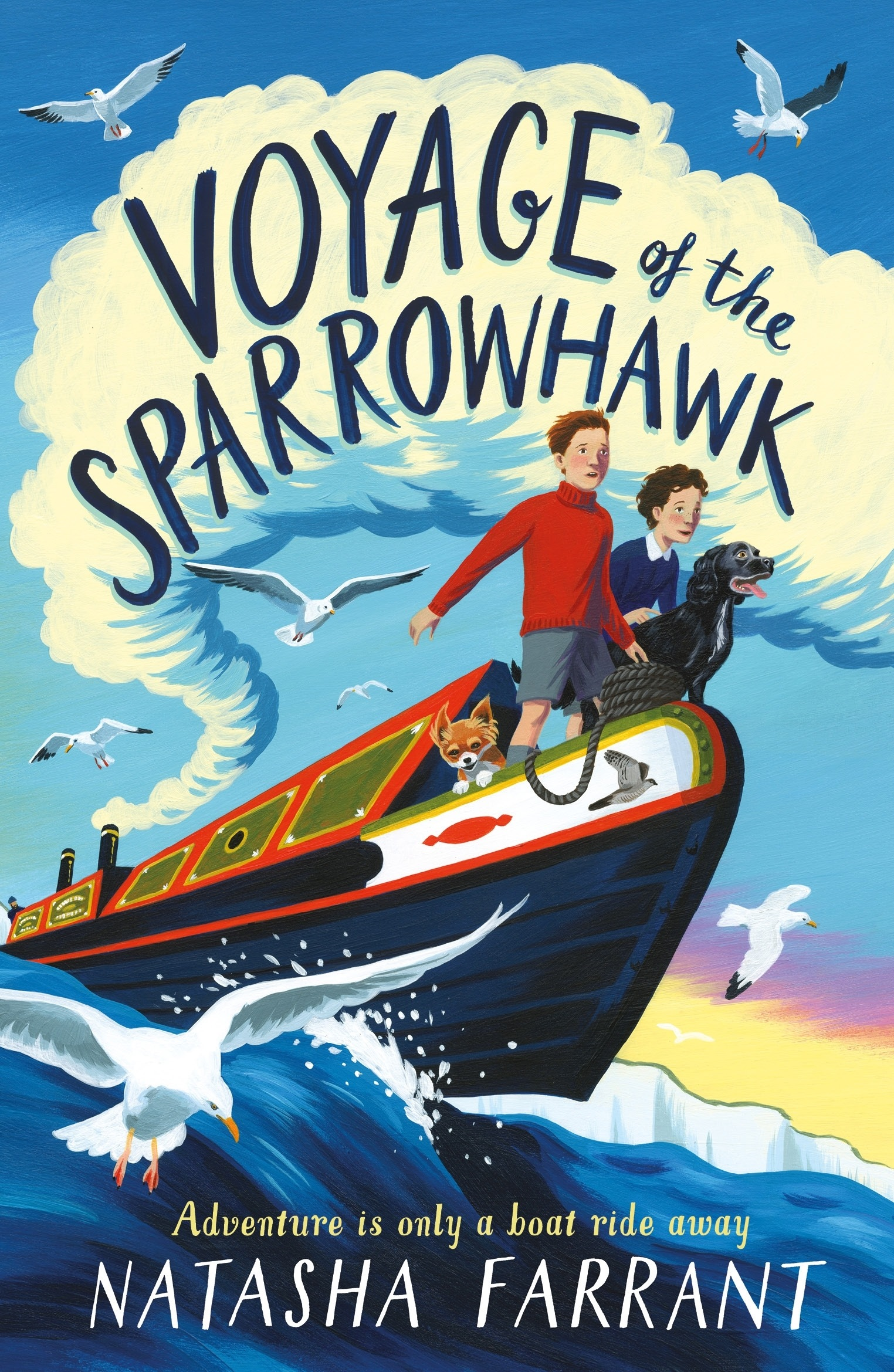 VOYAGE OF THE SPARROWHAWK image