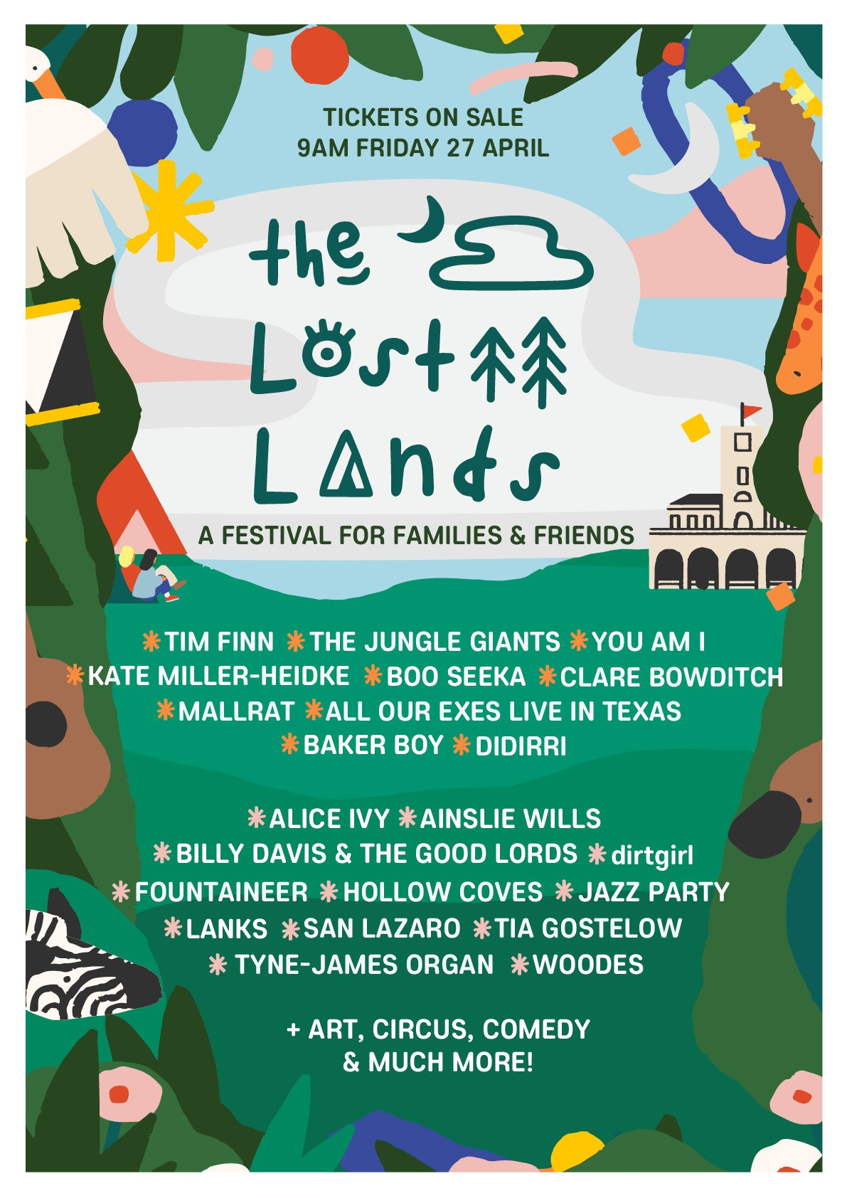 The Lost Lands 2018 Music line up