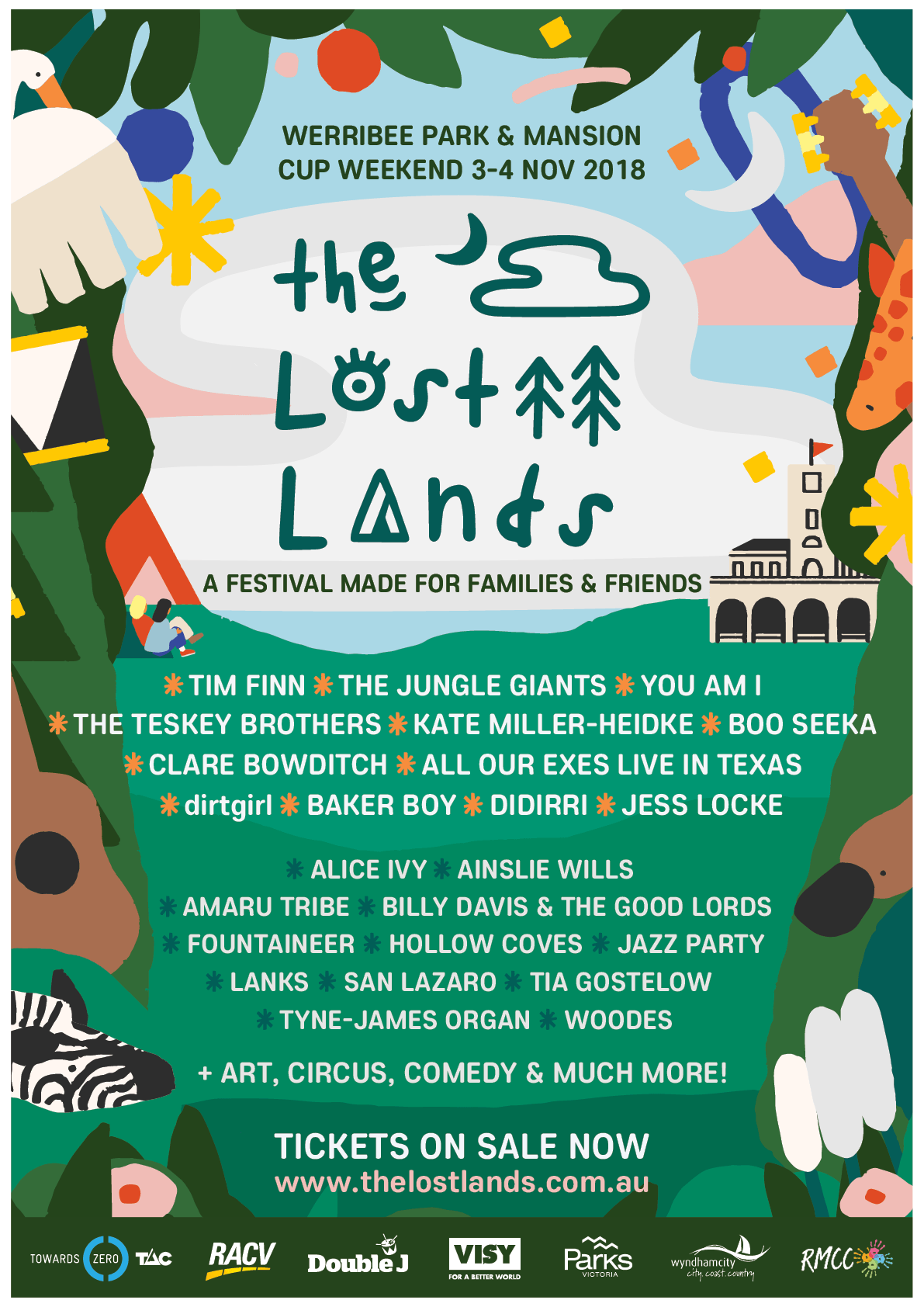 The Lost Lands 2018 Music Lineup