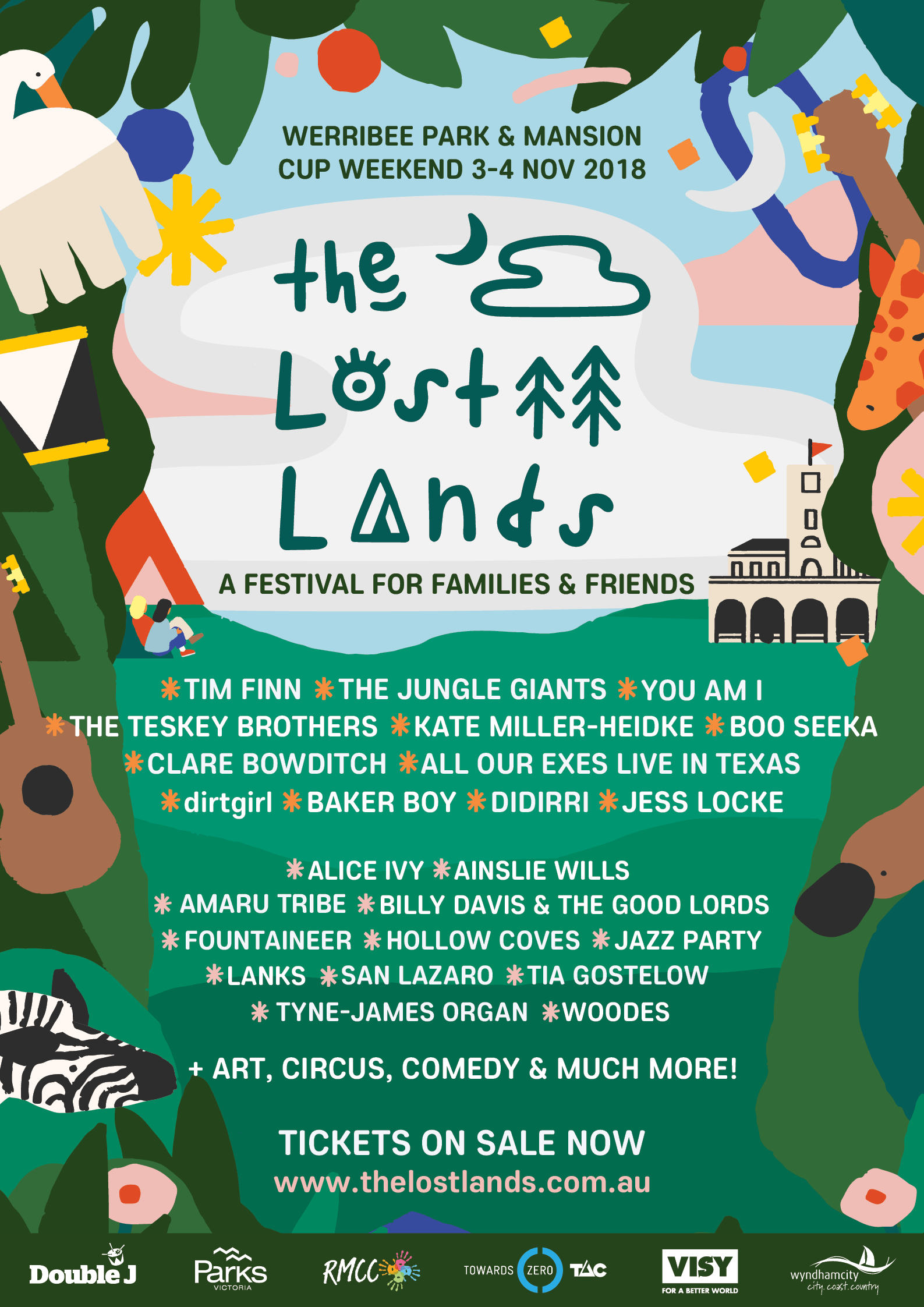 2018 The Lost Lands Lineup