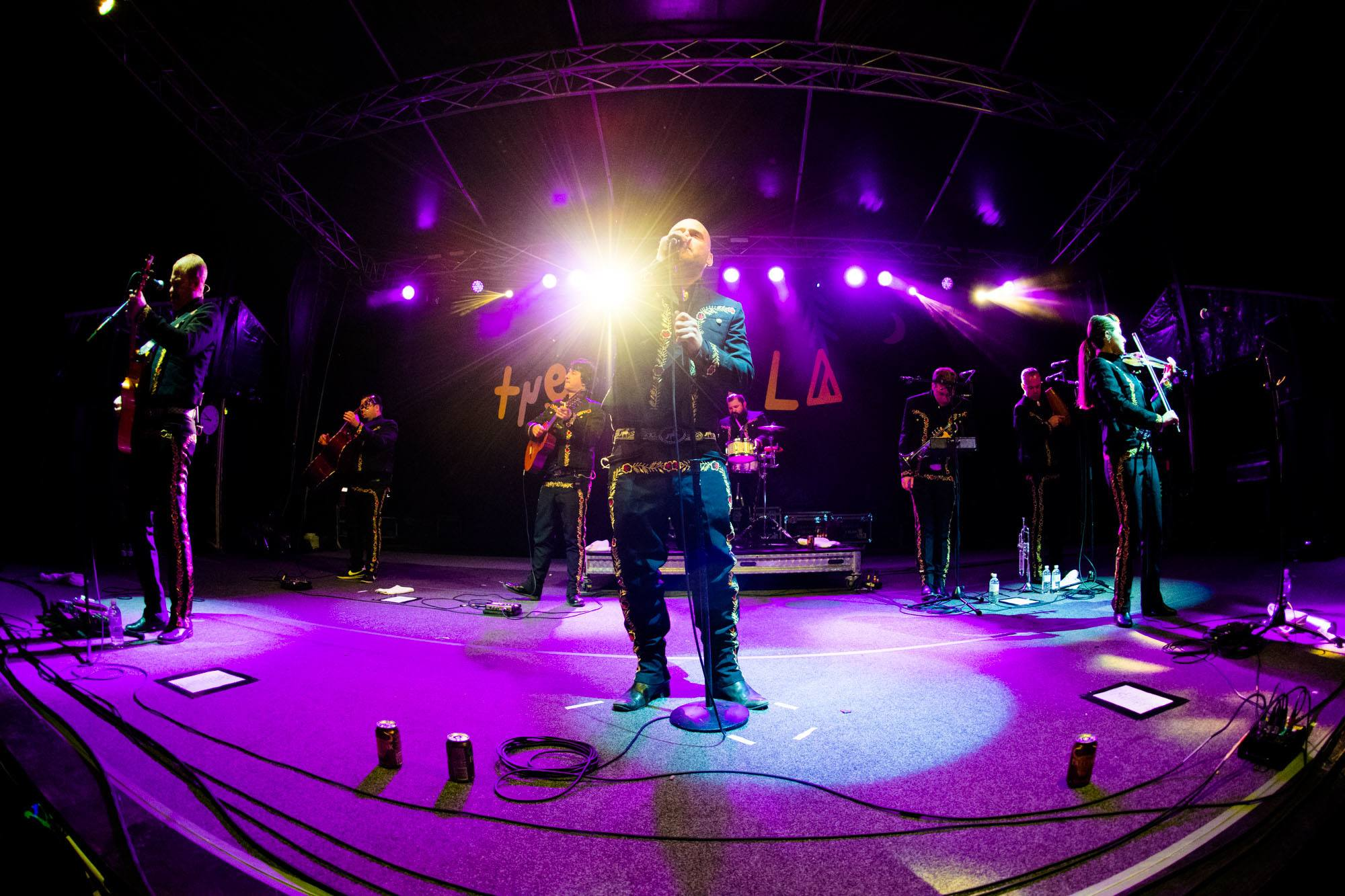 Mariachi El Bronx performing at The Lost Lands 2016