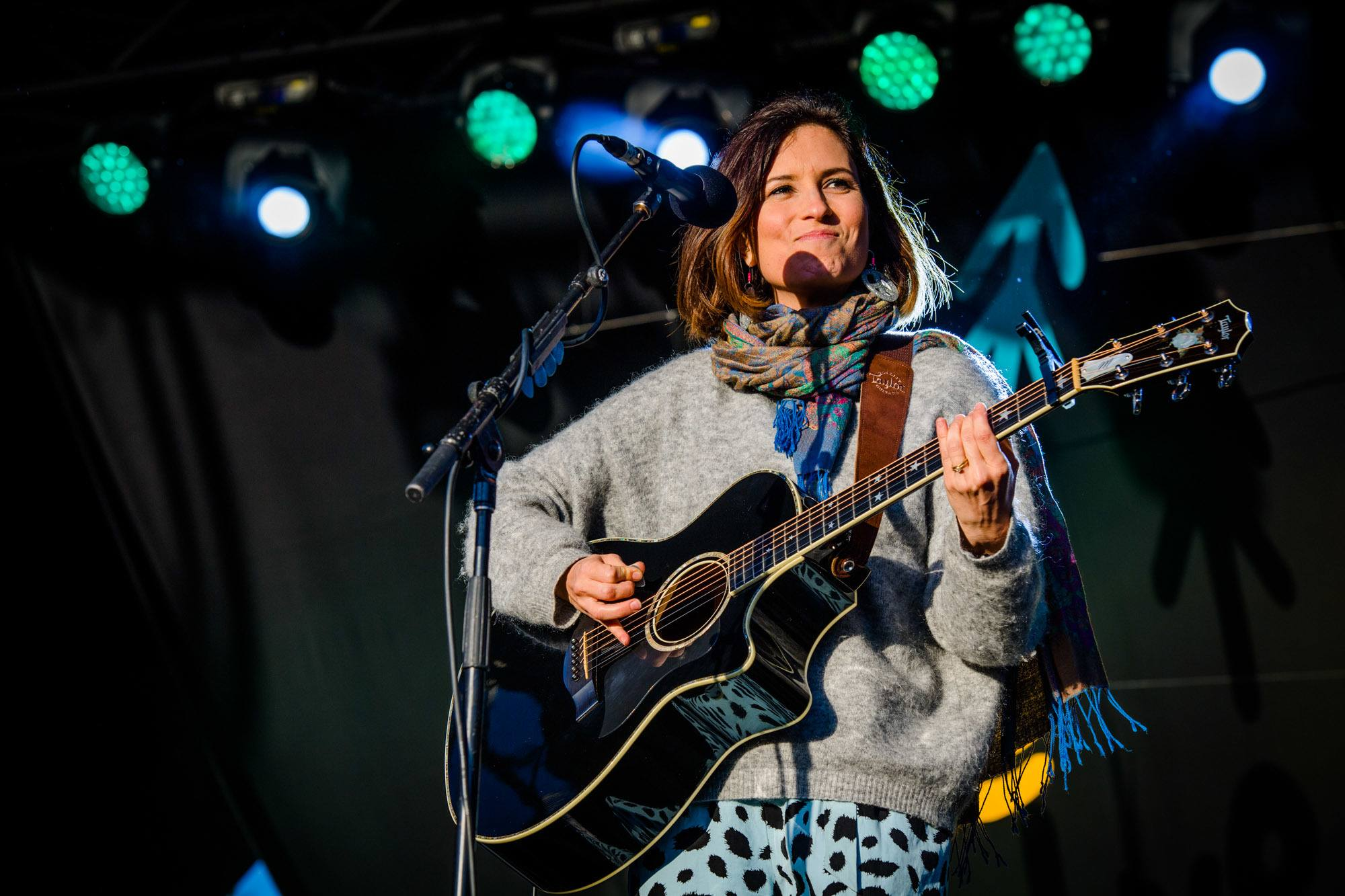 Missy Higgins performing at The Lost Lands 2016
