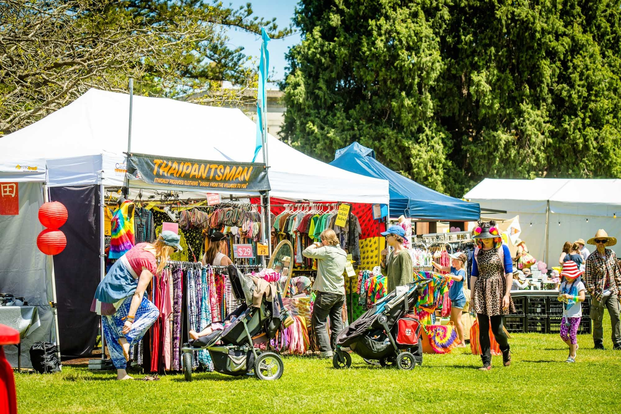 Market stalls at The Lost Lands 2016