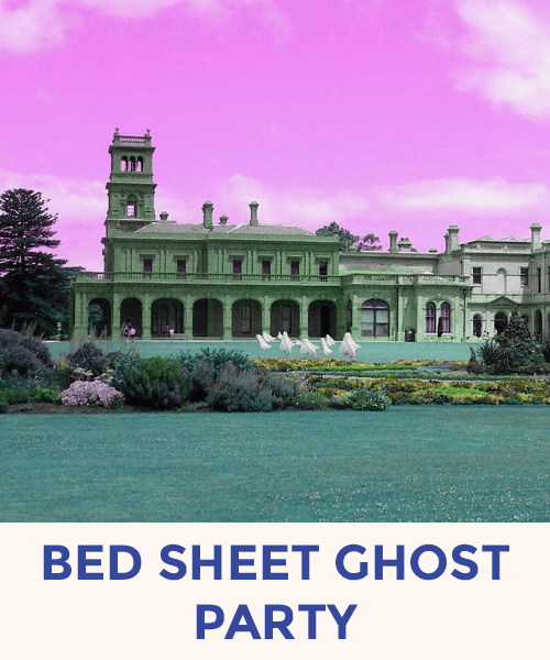 Bed Sheet Ghost Party