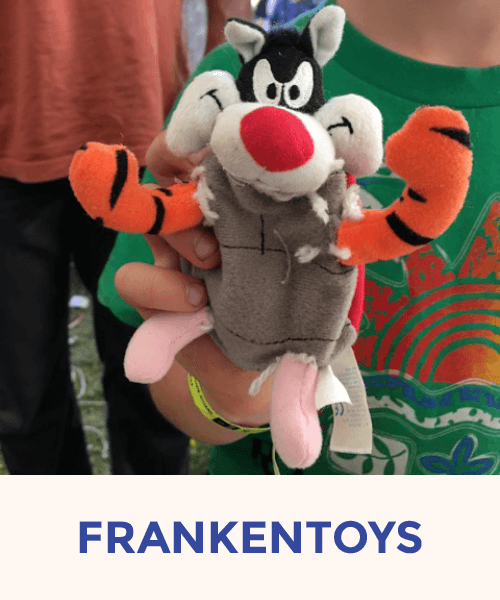 Frankentoys presented by Toylaboratory Team Textiles