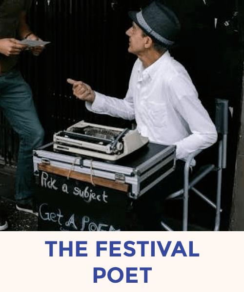 The Festival Poet