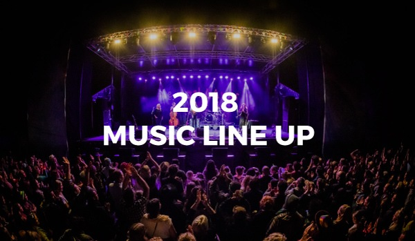2018 Music Line Up