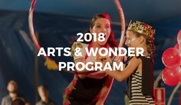 2018 Arts & Wonder Program
