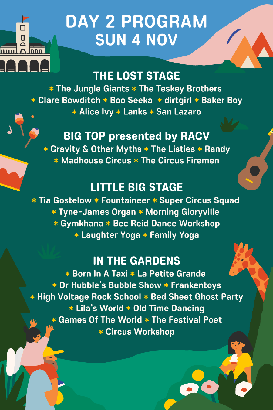 Day 2 Program - The Lost Lands