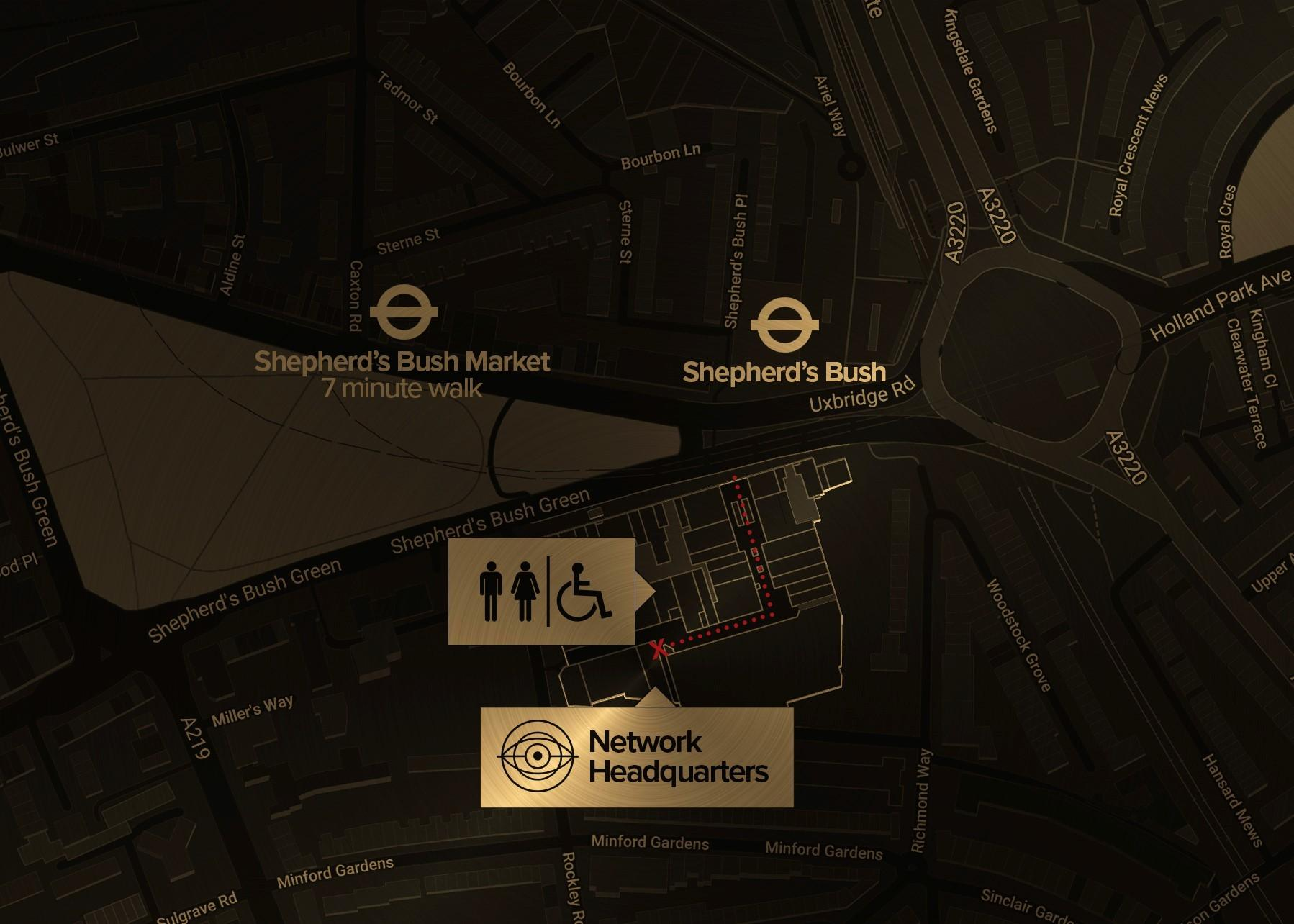 Network Headquarters, Sherlock The Game Is Now