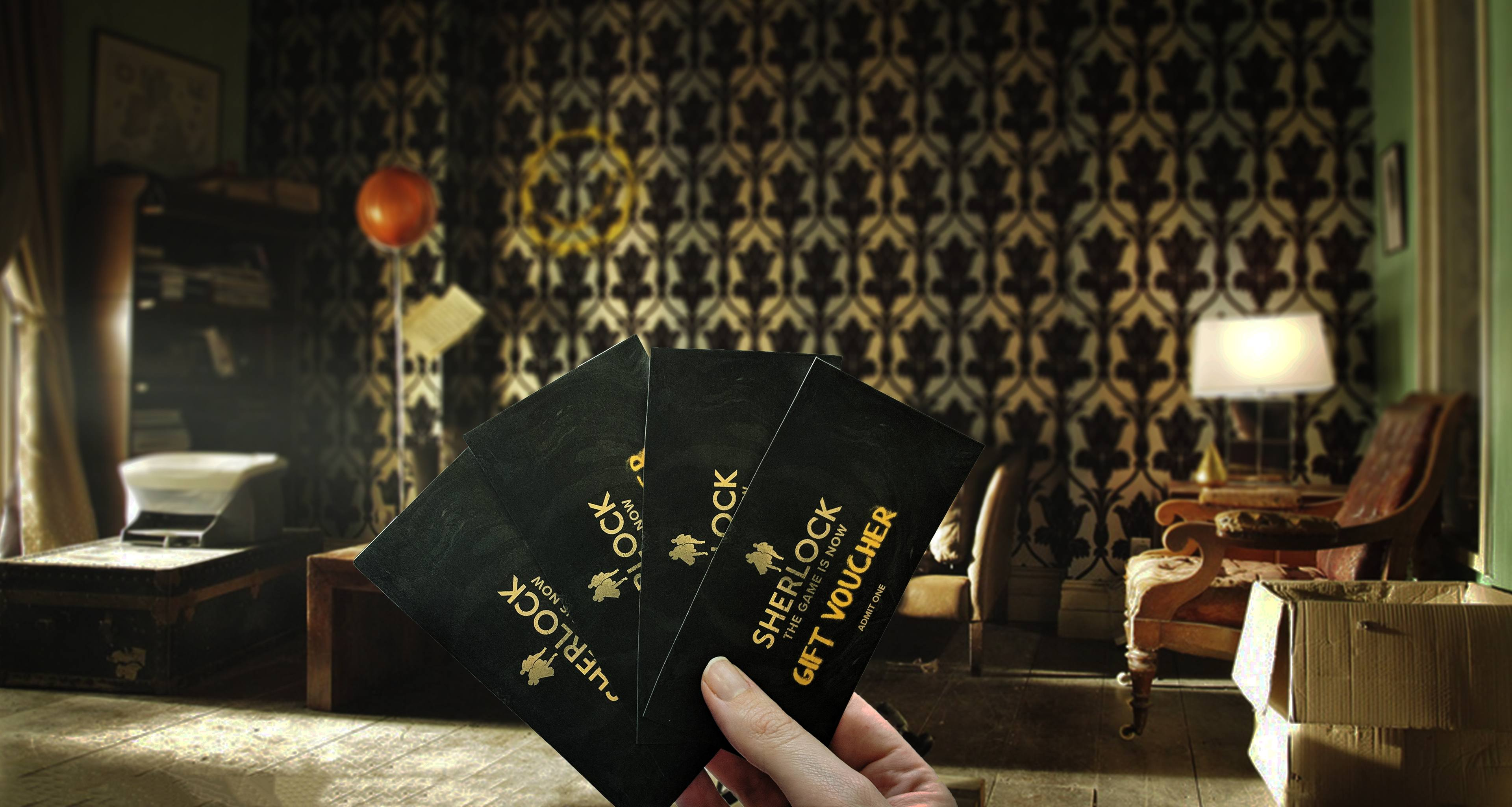 Sherlock: The Game Is Now Gift Voucher