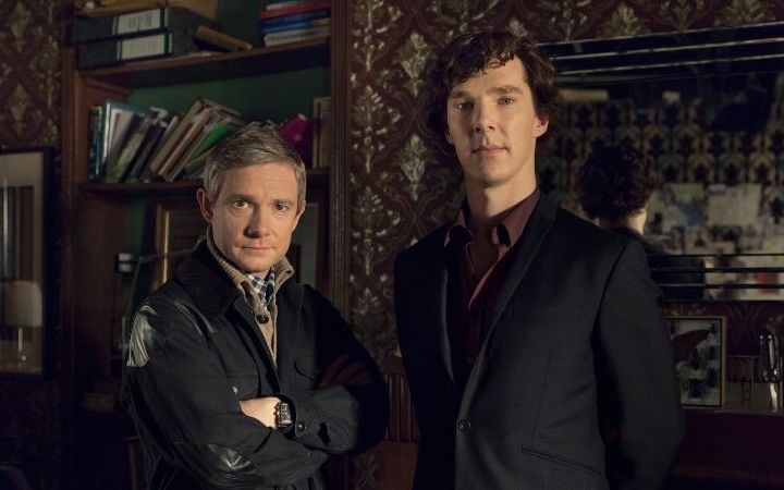 Sherlock Screening The Blind Banker at The Mind Palace