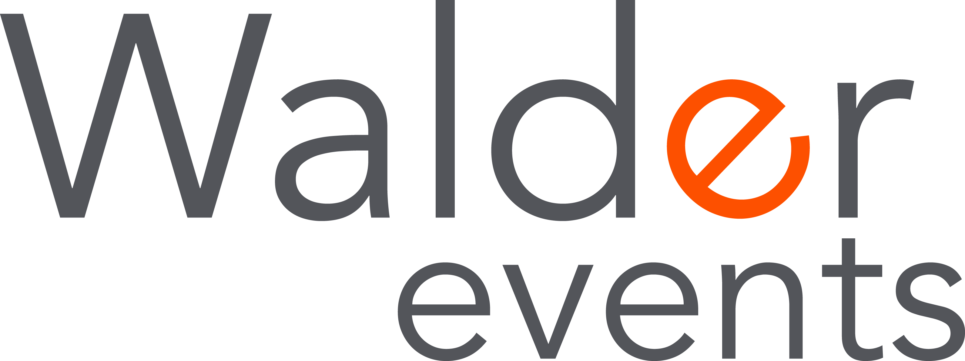 Walder Events logo