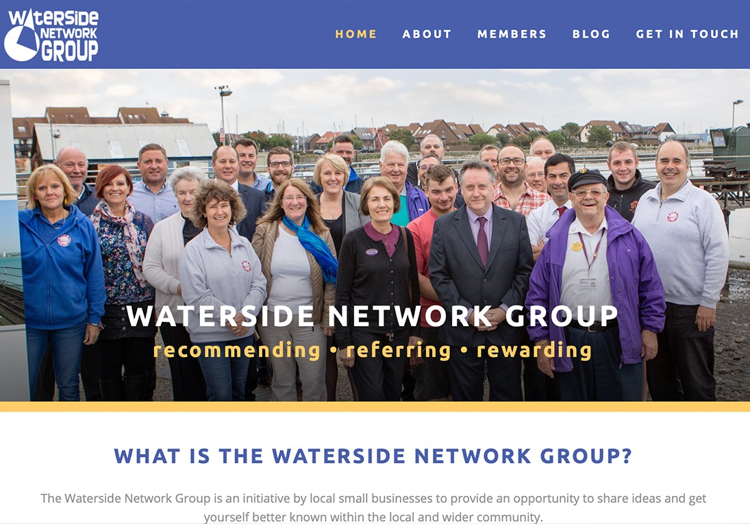 Waterside Network Group website