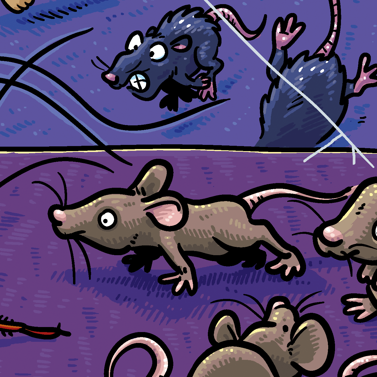 Mouse illustration from Treasure Beyond Measure