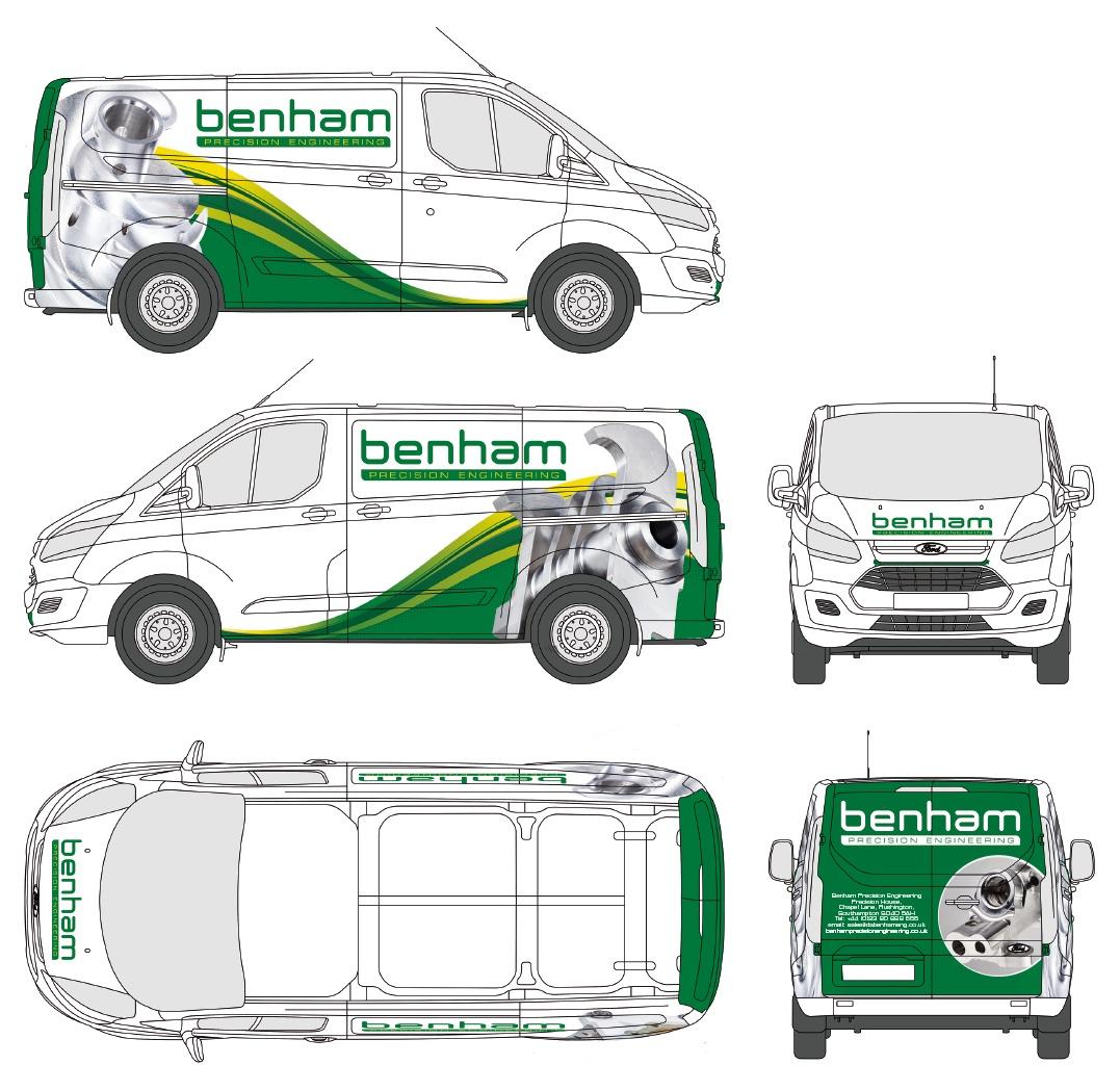 Benham Ford Transit Livery.jpg