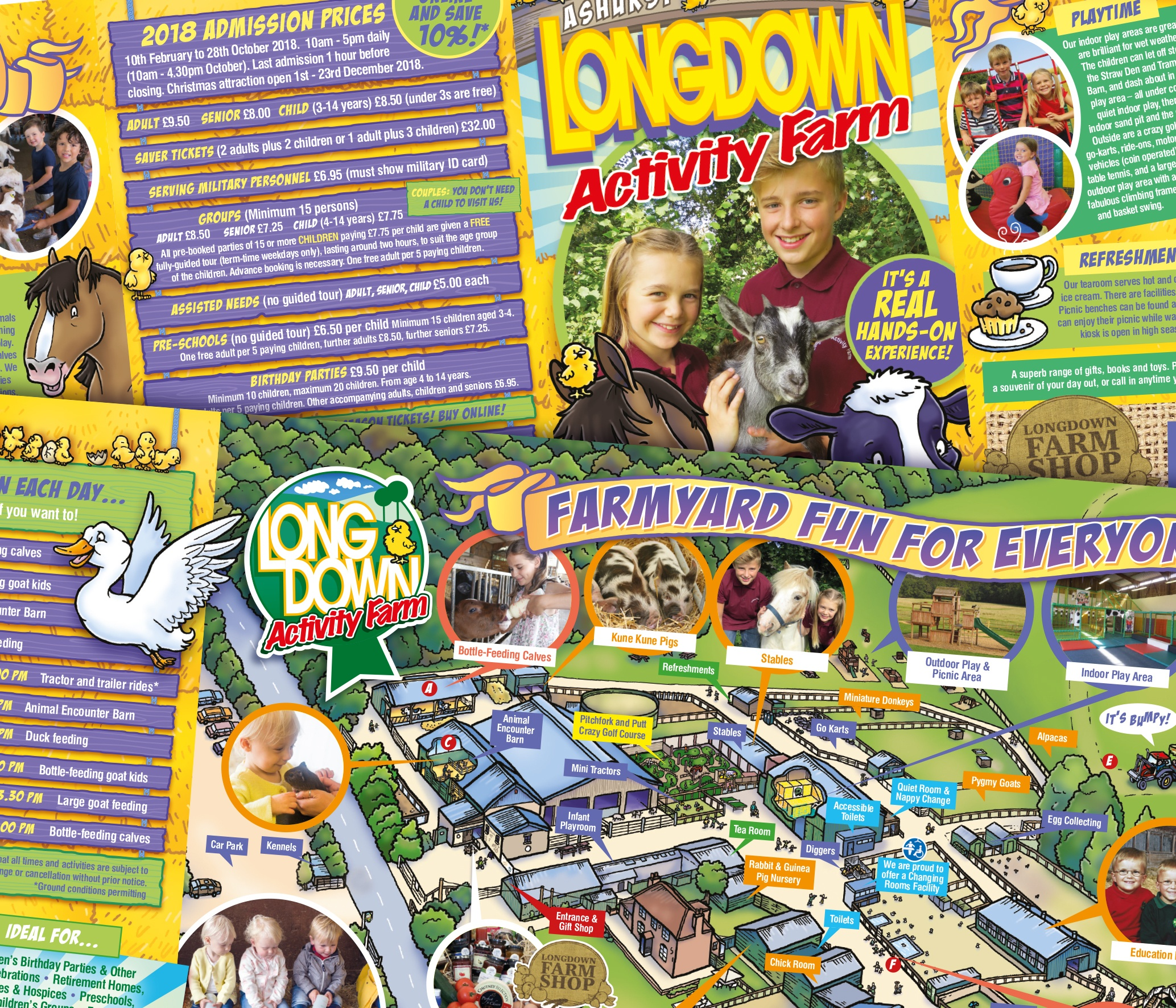 Ceratopia Visitor Attraction Leaflet