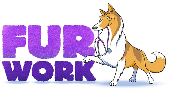Fur Work logo created by Ceratopia