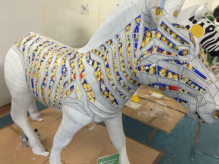 Progress on Simon's Zany Zebra