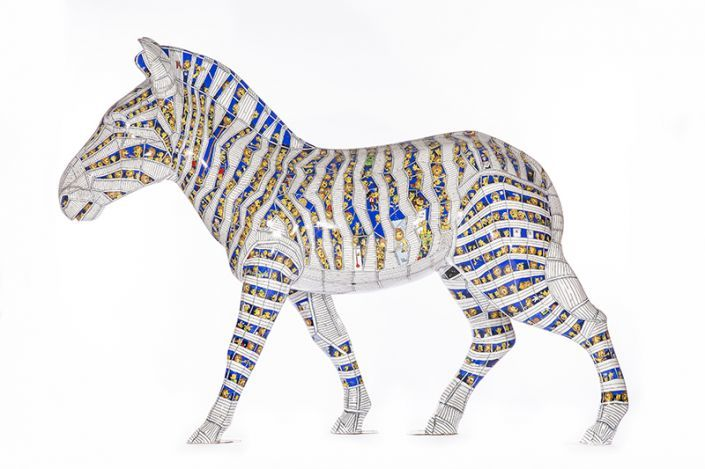 The Trojan Zebra by Simon Chadwick