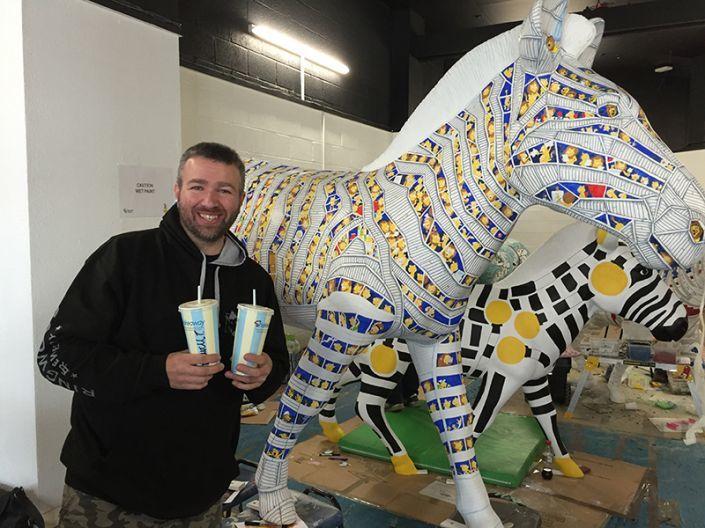 Dave Moles and the Trojan Zebra