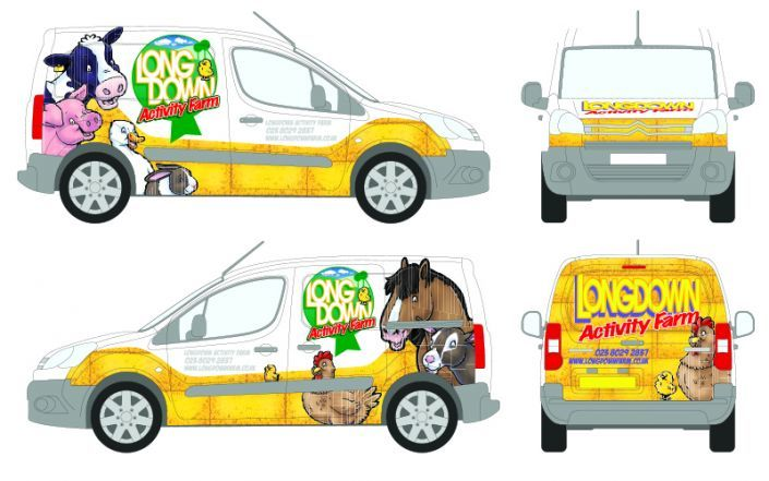 The van's design laid out for approval