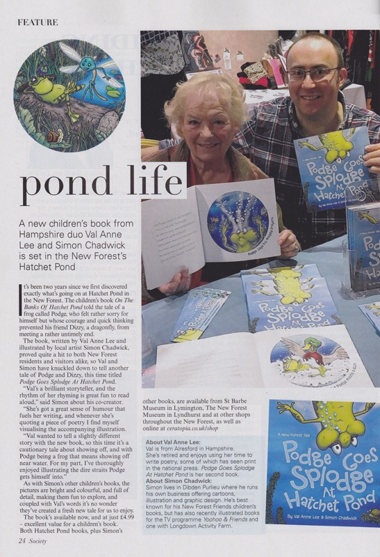 Book review from Hampshire Society magazine