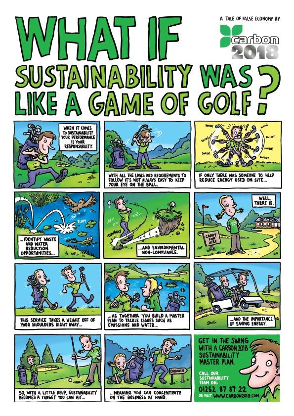 Cartoon strip for Carbon 2018
