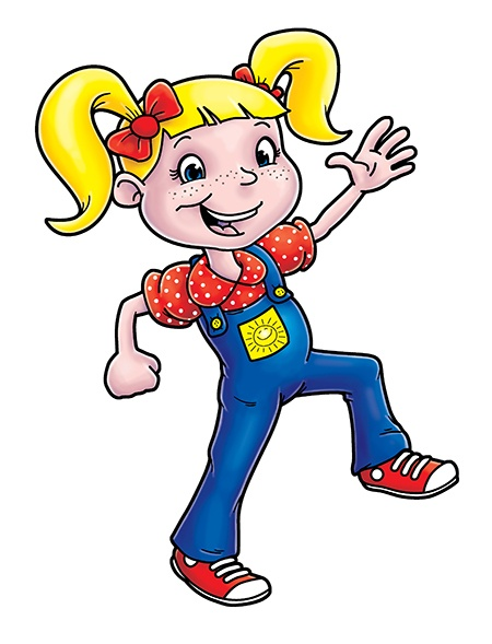 Suzy Sunshine character design
