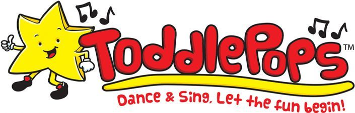 The finished Toddlepops logo