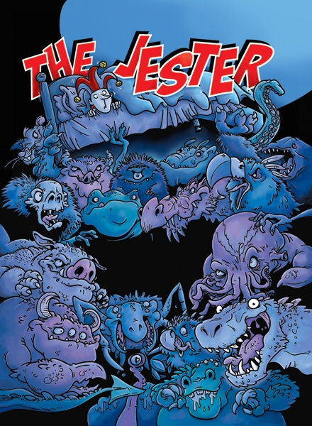 Cover illustration for The Jester
