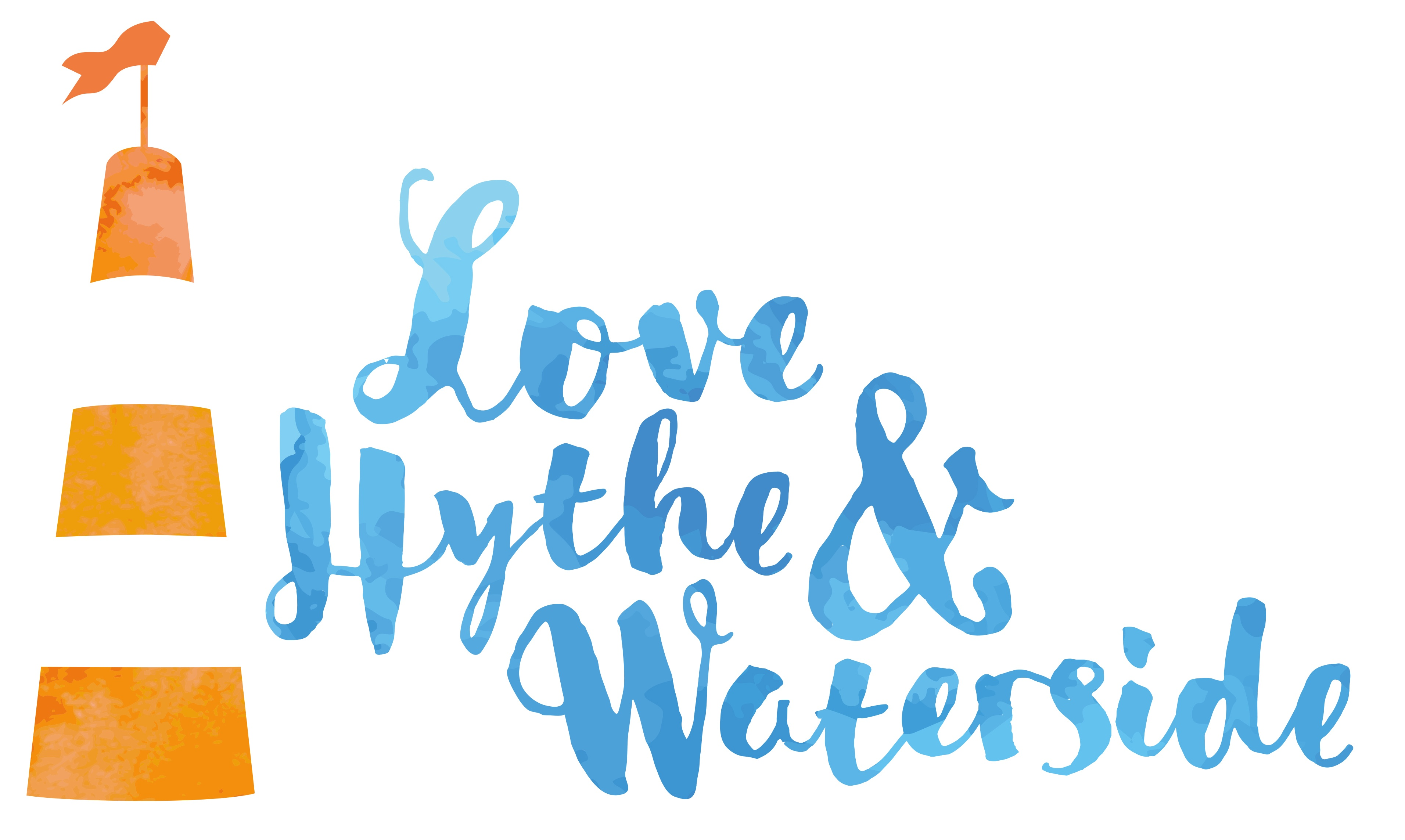 The Love Hythe & Waterside logo