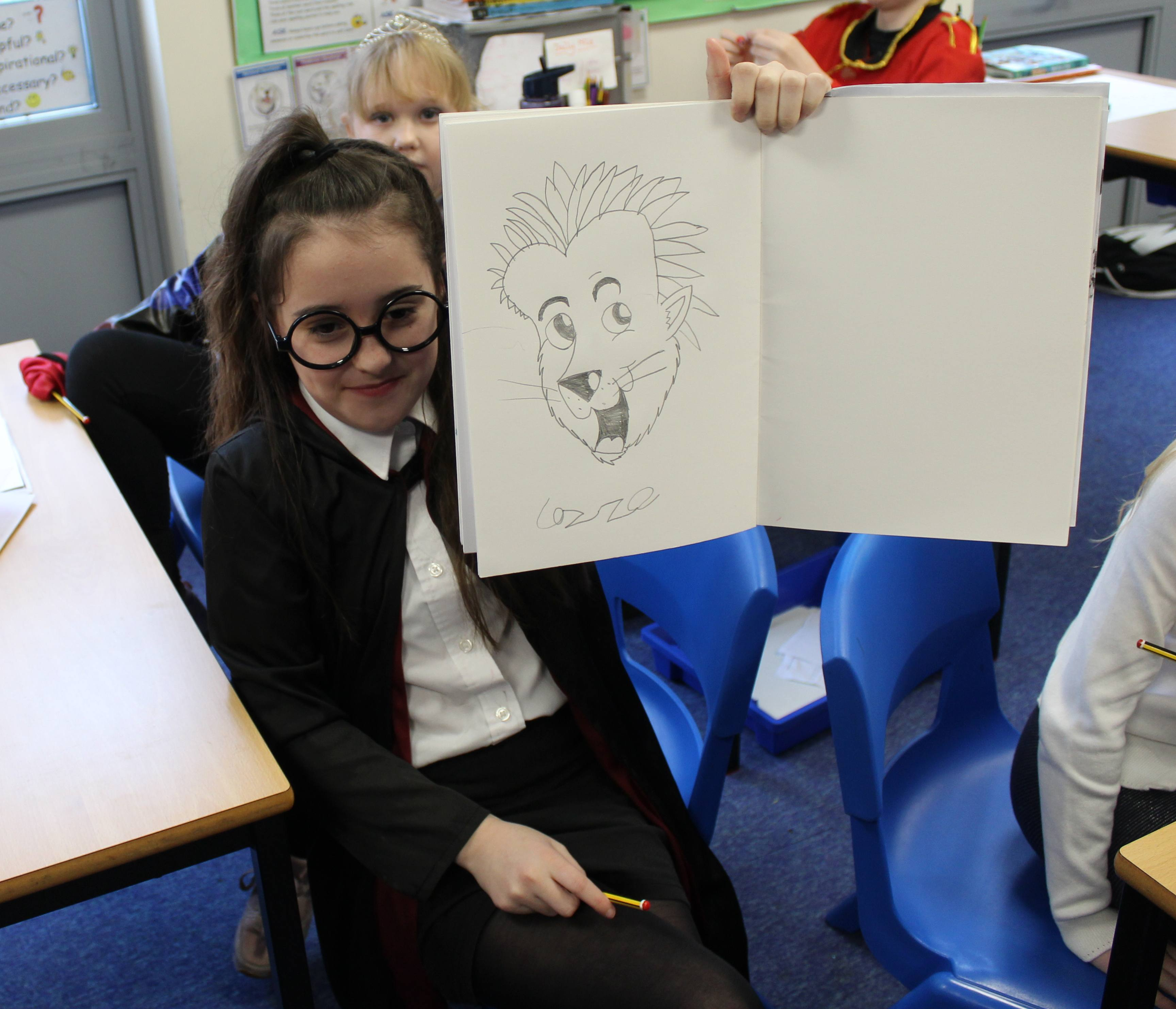 One of the children's versions of Beaulieu the Hedgehog