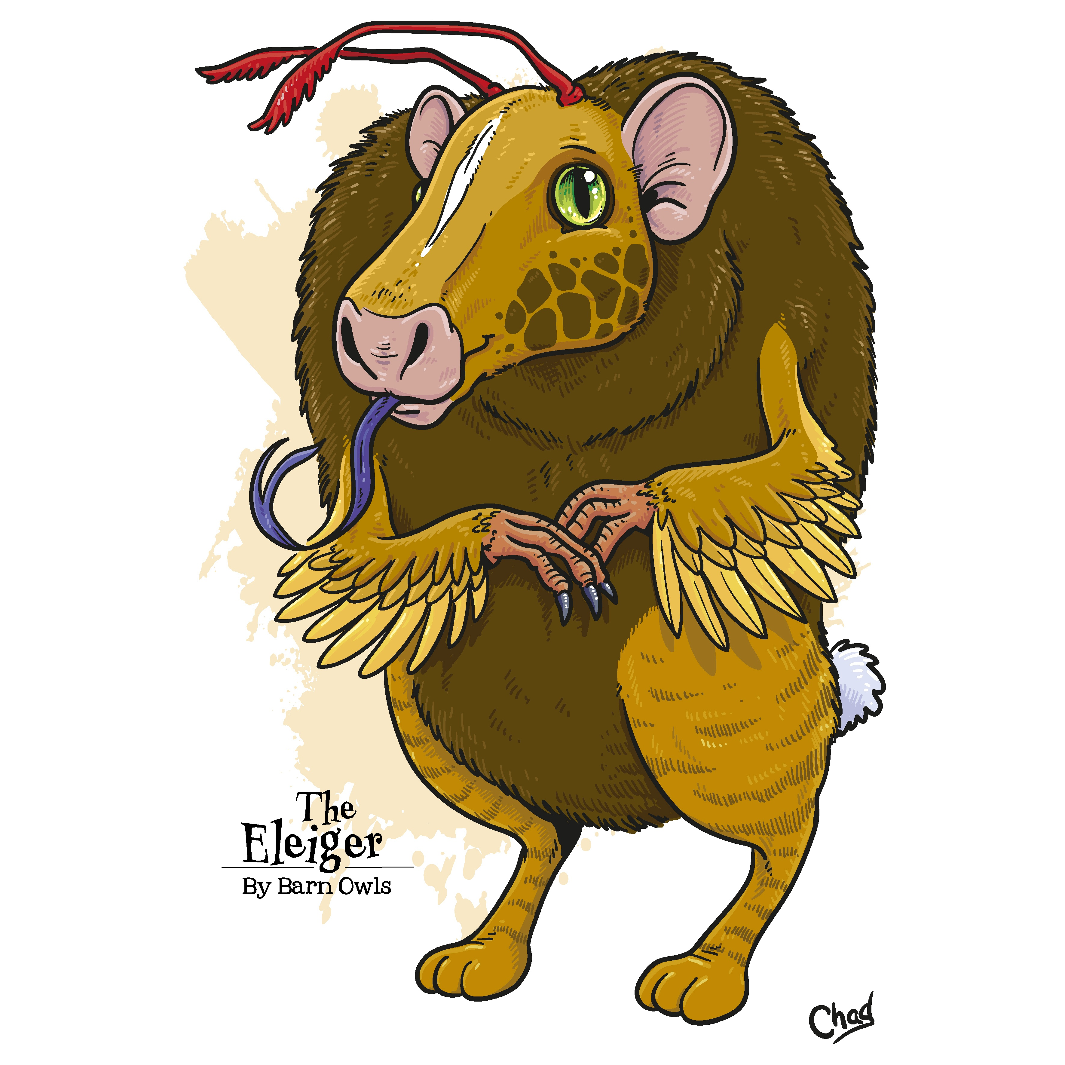 The Eleiger, drawn by Simon Chadwick