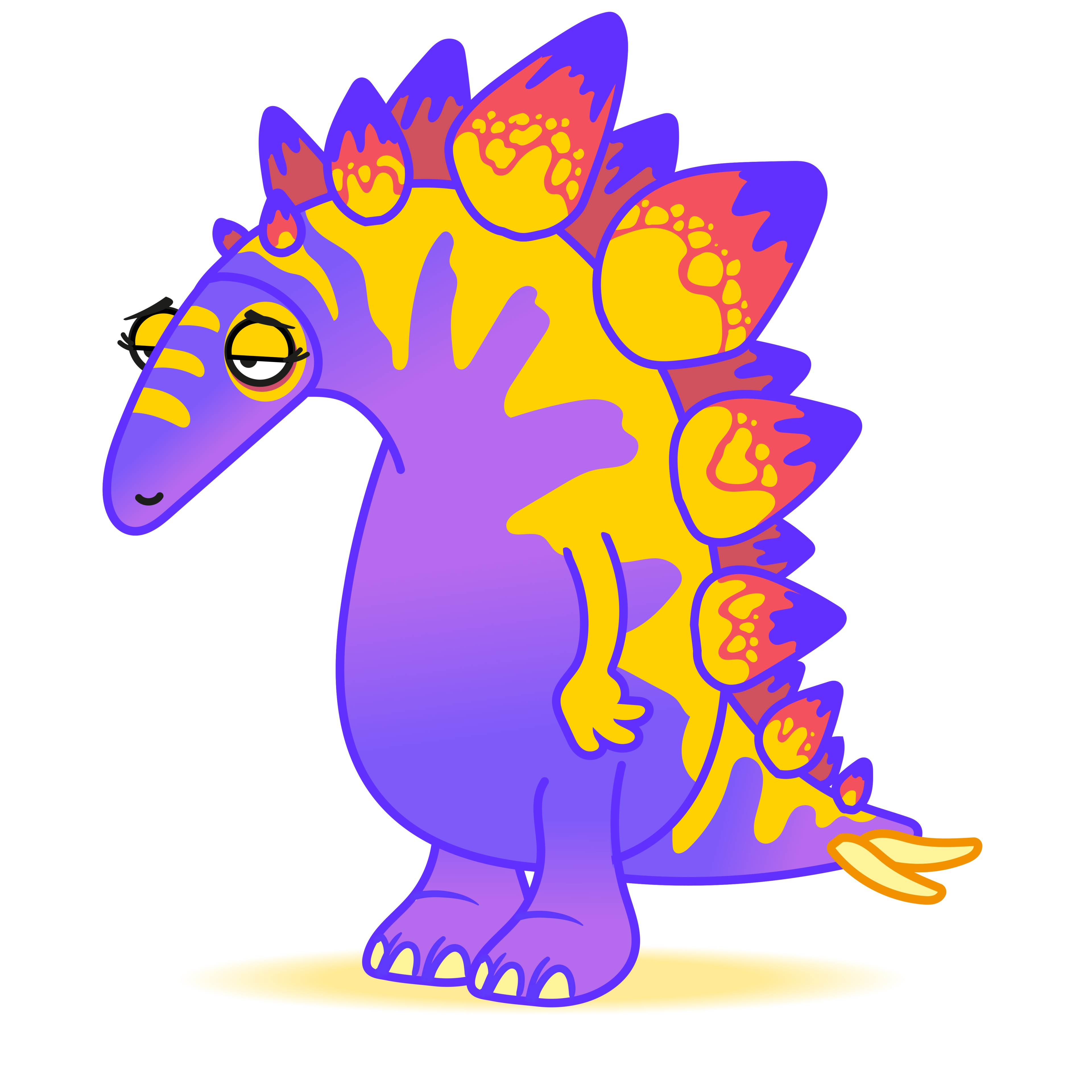 Ceratopia animation, Stella Stegosaurus