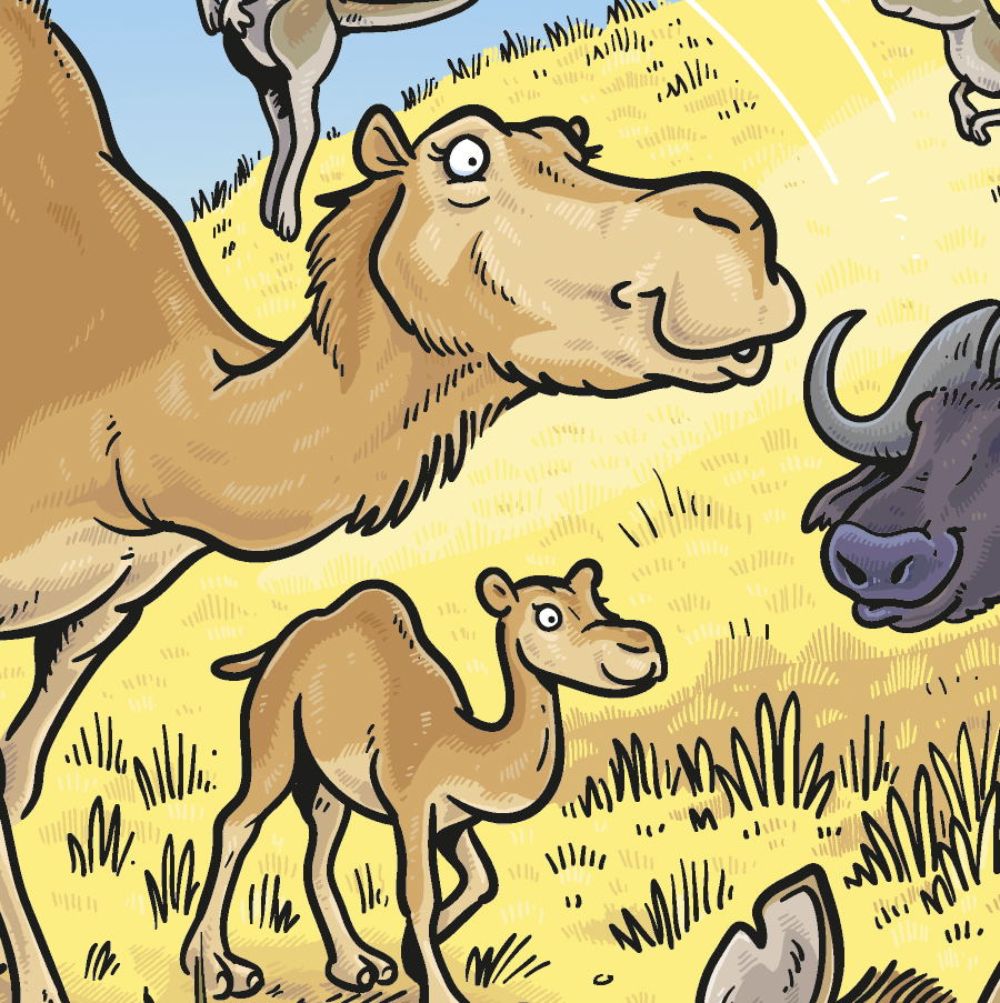 Camel from Treasure Beyond Measure