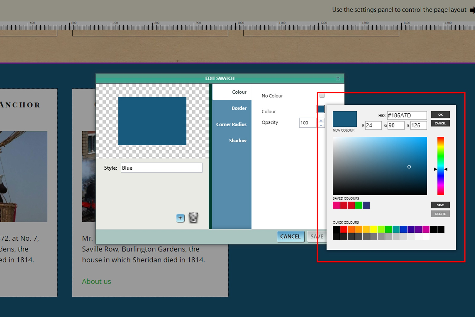 The Colour Picker image