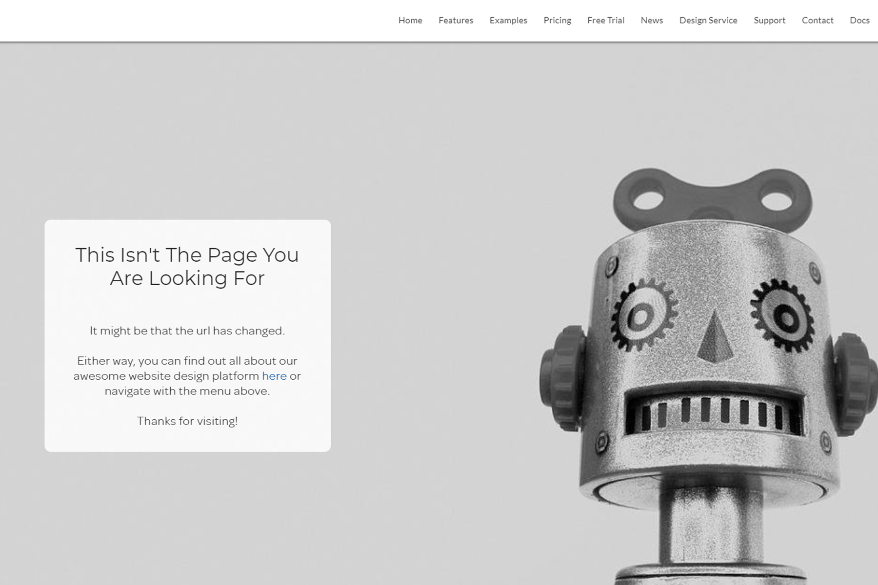 Creating A 404 Page image