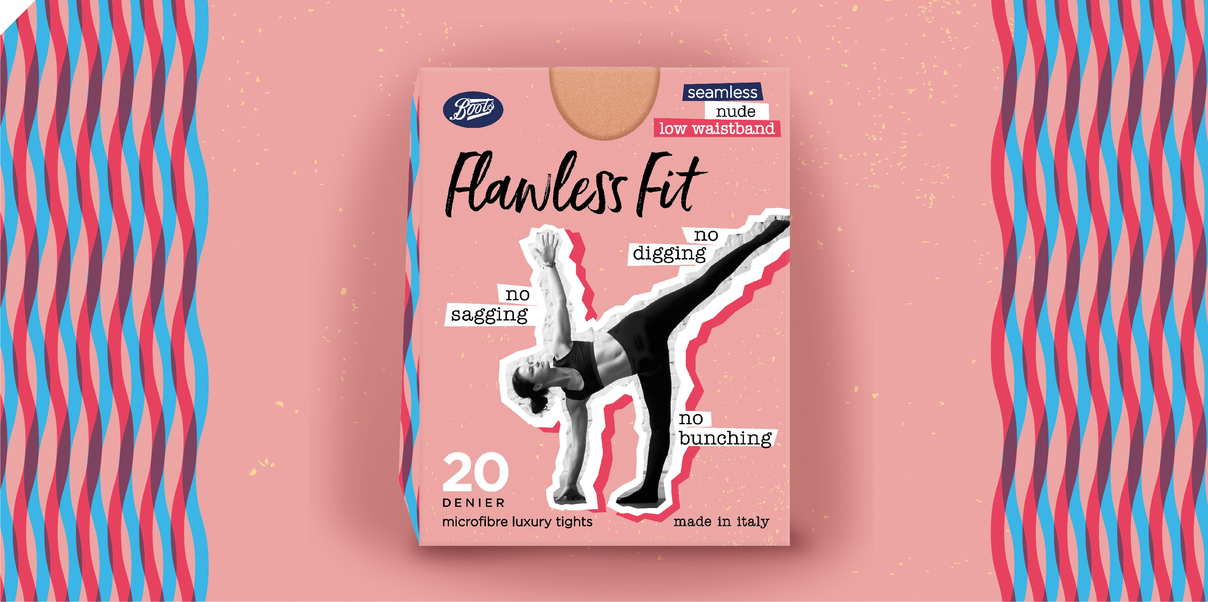 Brand on Shelf - Work - Boots - Flawless Fit Tights 20 Denier