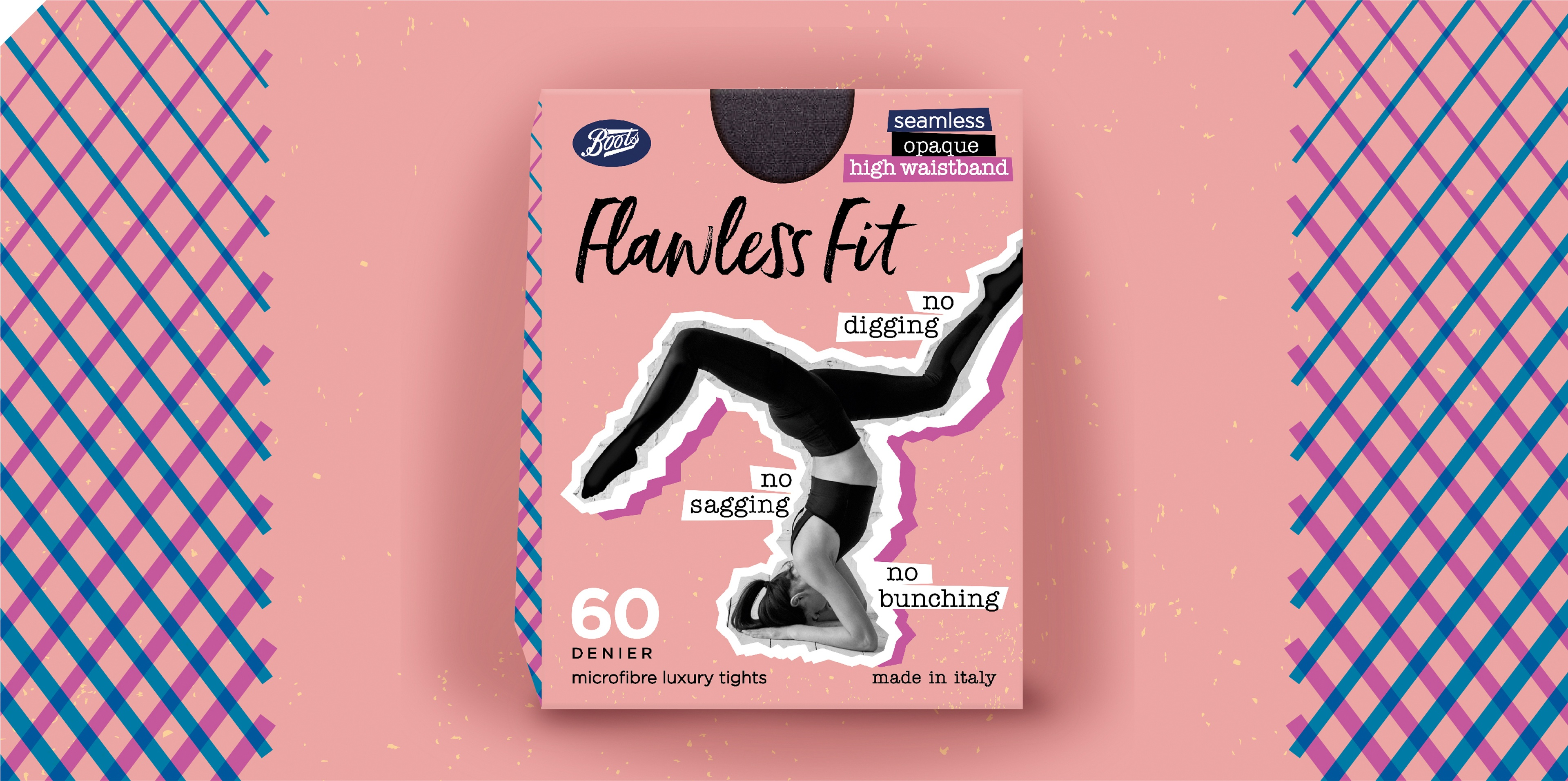 Brand on Shelf - Work - Boots - Flawless Fit Tights 60 Denier