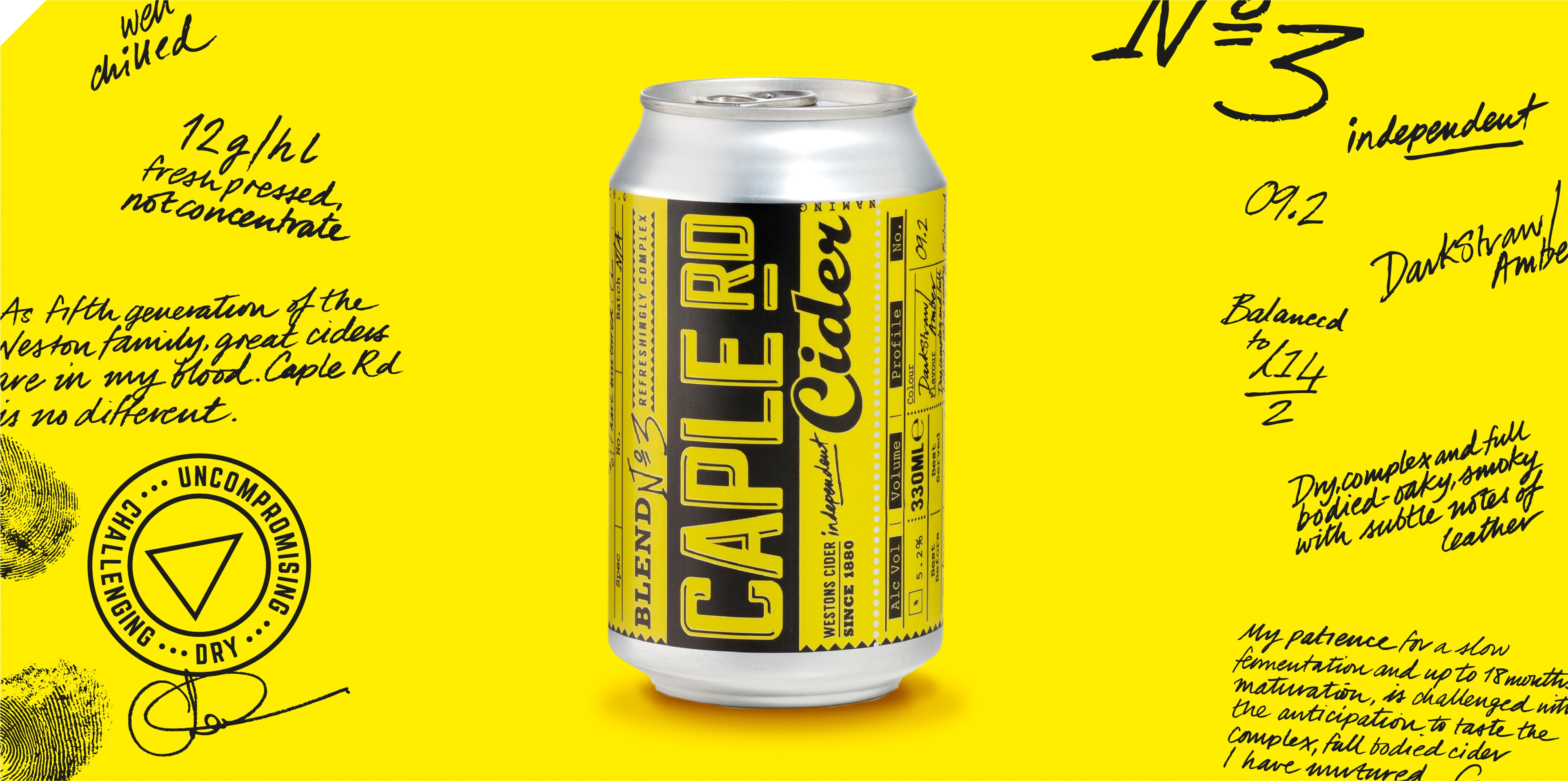 Brand on Shelf - Work - Westons Cider - Caple Rd Cider