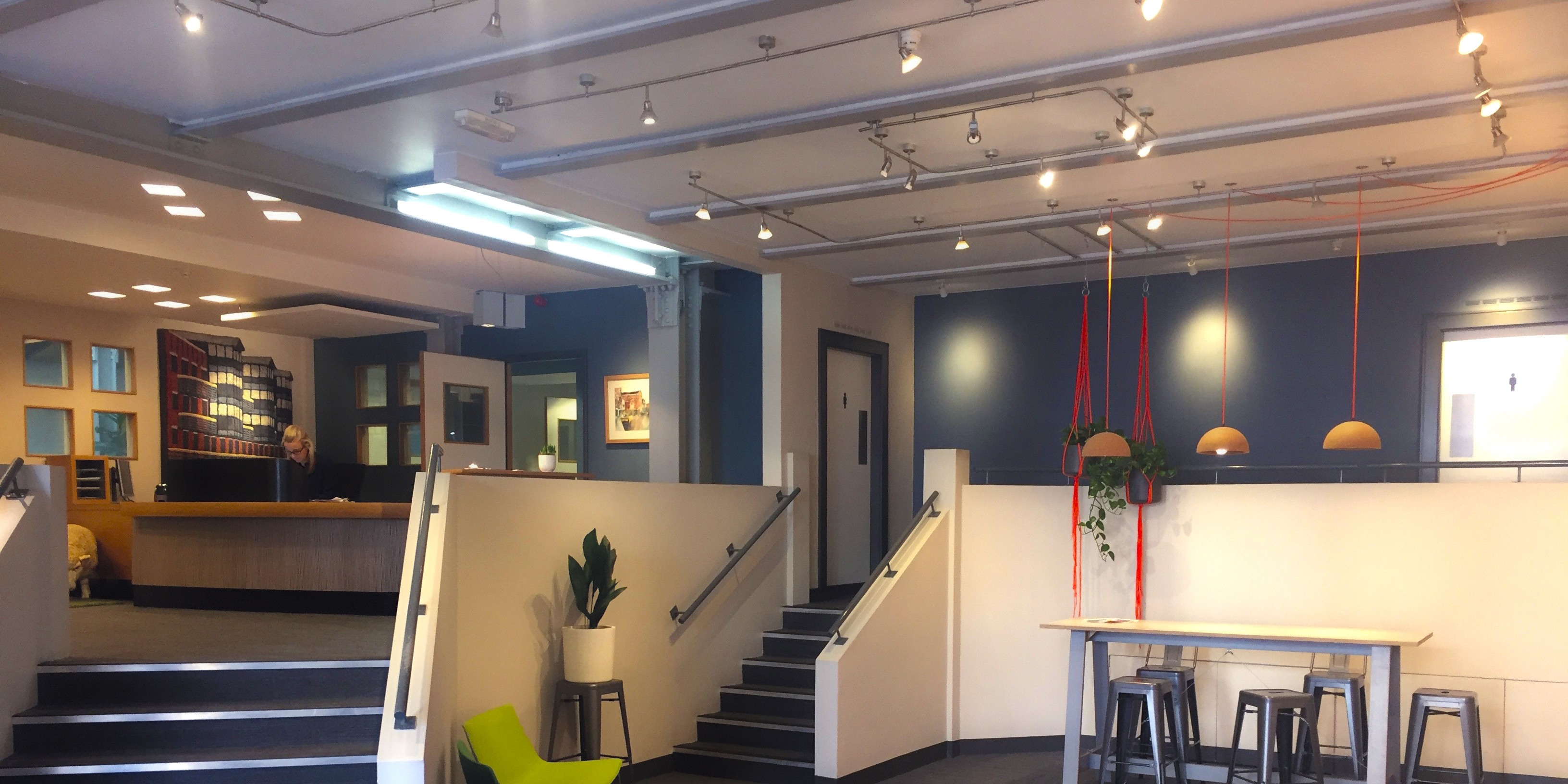 Brand on Shelf Leeds Office Reception
