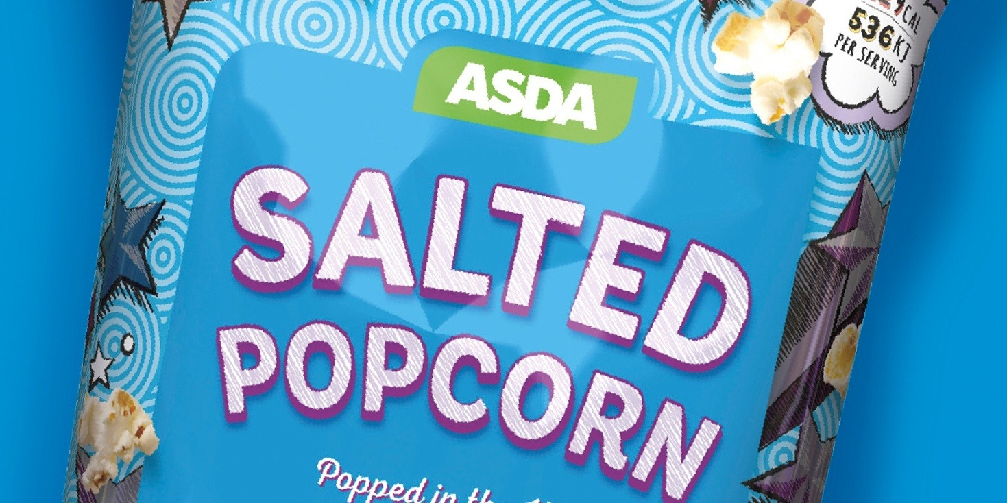 Brand on Shelf - Work - Asda Popcorn