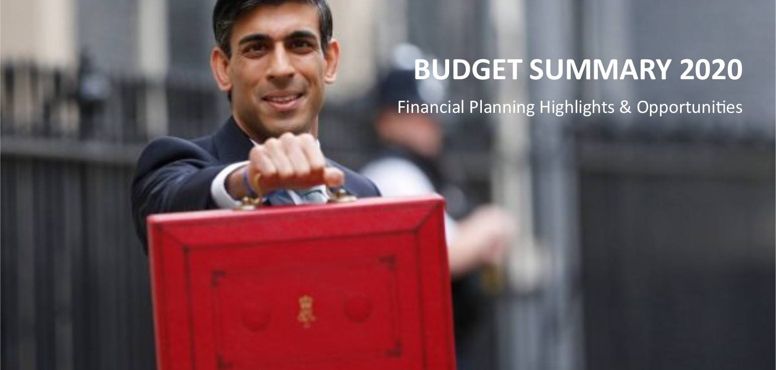BUDGET SUMMARY - March 2020 image
